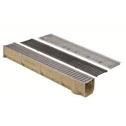 caniveau en b 233 ton polyester grille fonte 1 m