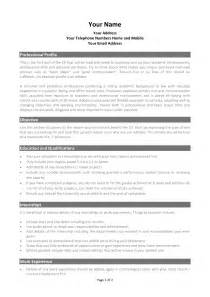 Microsoft Resume Templates 2012 by Best Photos Of Academic Cv Template Word Academic Cv