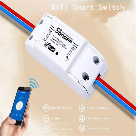 new sonoff remote wifi switch smart home