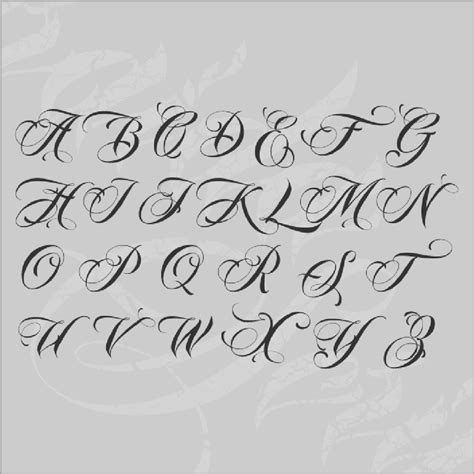 tattoo script generator gangster clown skull tattoos fonts cursive