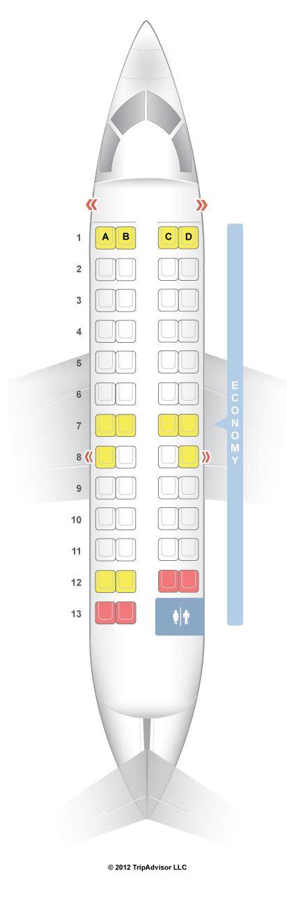 canadair regional jet seating seatguru seat map delta bombardier crj 100 200