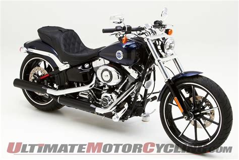 harley breakout seat replacement corbin releases dual touring seat for harley softail breakout