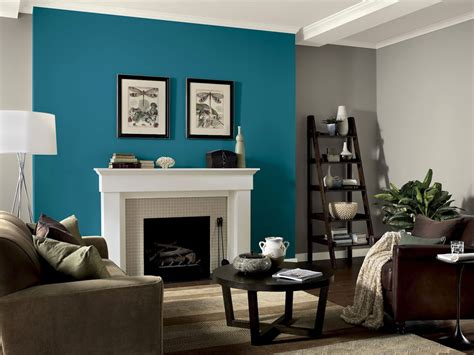 Living Room Accent Wall Color Ideas Gray And Blues Living Room On Accent Walls Blue Accent Walls And Grey Couches