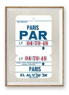 printable luggage tickets printable pan am style airline ticket boarding by