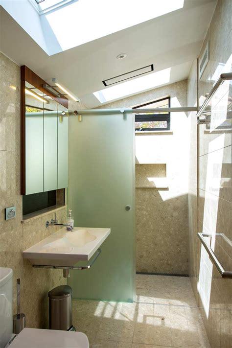 Narrow Glass Shower Screen by Narrow Bathroom With Frameless Shower Screen Euroglass