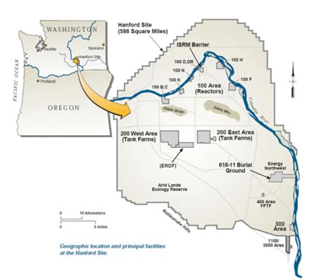 map of hanford california the hanford site holding the pacific northwest at nuclear