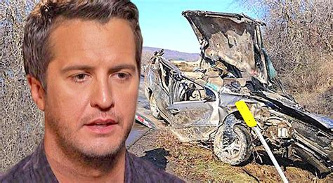 Old Country Home Decor Luke Bryan Responds To Local Crew Members Car Accident