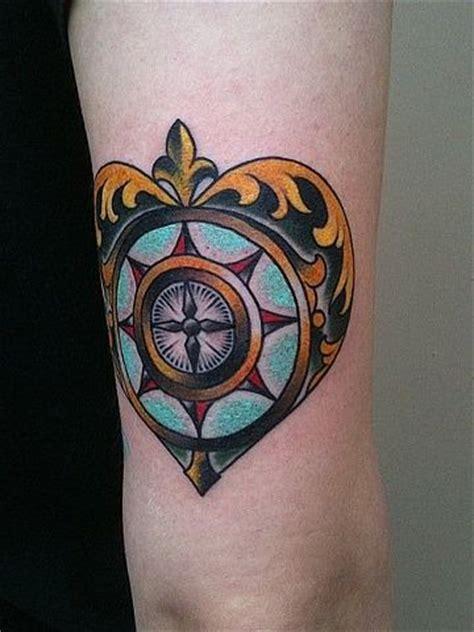 tattoo compass heart 92 best compass tattoo images on pinterest
