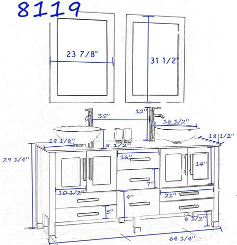 vessel sink cabinet height manicinthecity