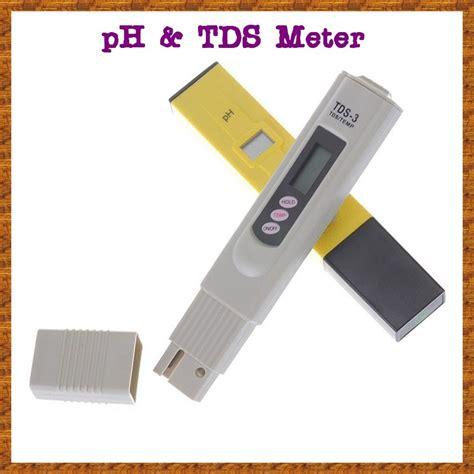 Jual Alat Hidroponik Tds jual alat ukur ph meter dan tds digital untuk hidroponik