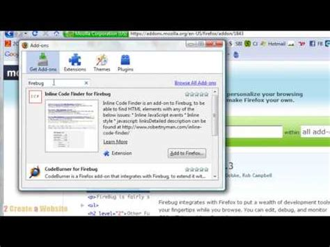 css tutorial english how to use firebug to learn edit css code