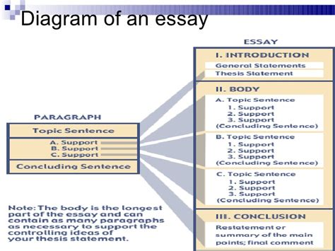 Structure Of Essay Writing by 5 Para Essay Structure