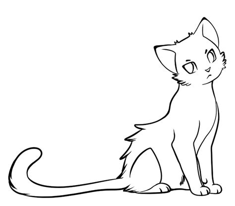 cat drawing template simple cat drawing clipart best
