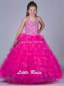 online get cheap girls pageant dresses size 16 aliexpress