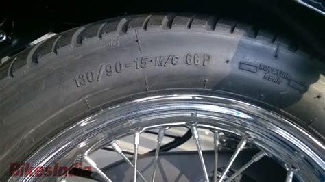 bajaj avenger tyre new 2015 bajaj avenger cruise overview 187 bikesindia org