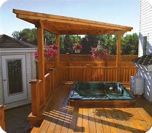 Stained Pergola by Fence All Pre Stained Closed Pergola