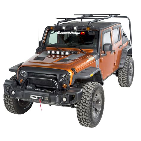 Jeep Racks And Carriers Sherpa Roof Rack Kit 4 Door 07 16 Jeep Wrangler Jku