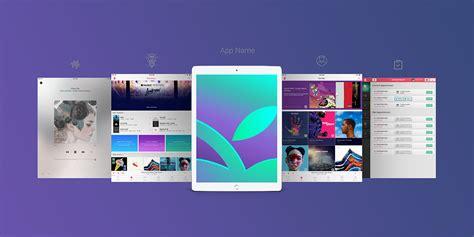 web design mockup ipad app free apple ipad pro app screen mockup psd good mockups