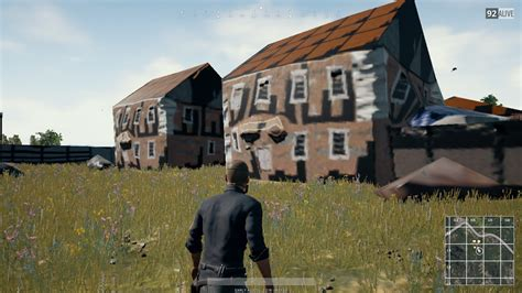 pubg buildings not loading sometimes the houses aren t fully rendered when i land