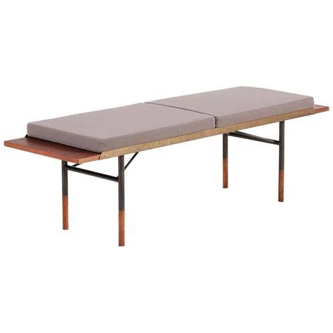 finn juhl teak coffee table bench for bovirke 1952 for