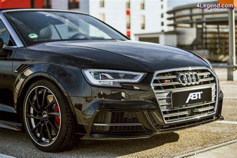 Audi S3 Nm by Abt Audi S3 Cabriolet 400 Ch Et 500 Nm 4legend