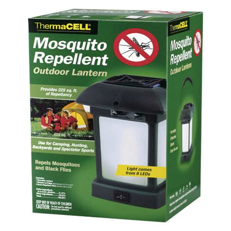 thermacell mosquito repellent outdoor lantern 12 hrs