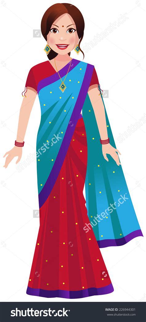 saree clipart clipground