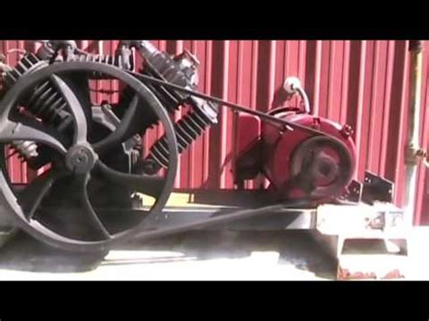 how to make an 34cfm air compressor
