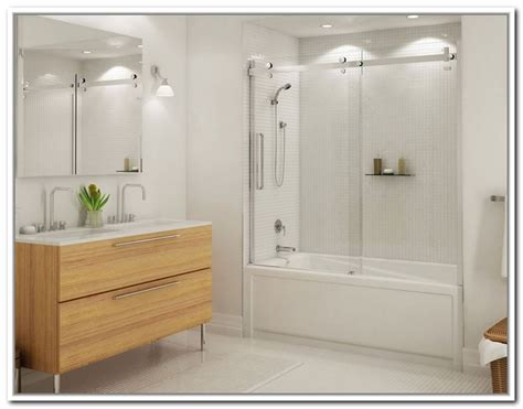 bathtub with a door door bathtub sliding shower doors