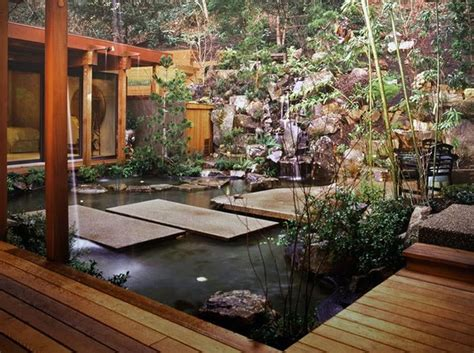 Home Design Asian Landscape Design Asian Patio Design