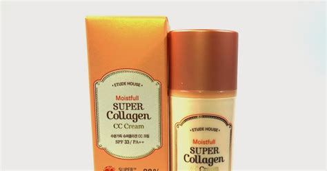 Etude Collagen Cc etude house moistfull collagen cc in light