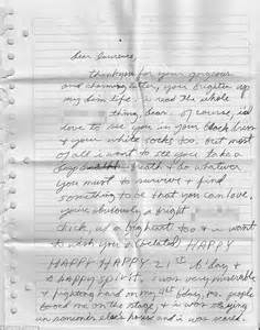 Pariss Letter To Fans by Some Of The Greatest Letters You Will Read Daily