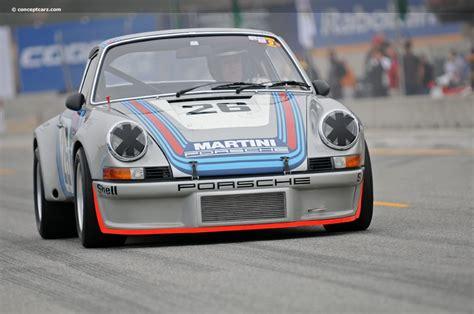 1973 rsr porsche 1973 porsche 911 rsr at the rolex monterey motorsports reunion