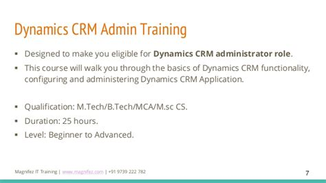 Crm Syllabus Mba by Dynamics Crm 365 Overview Oriented Courses