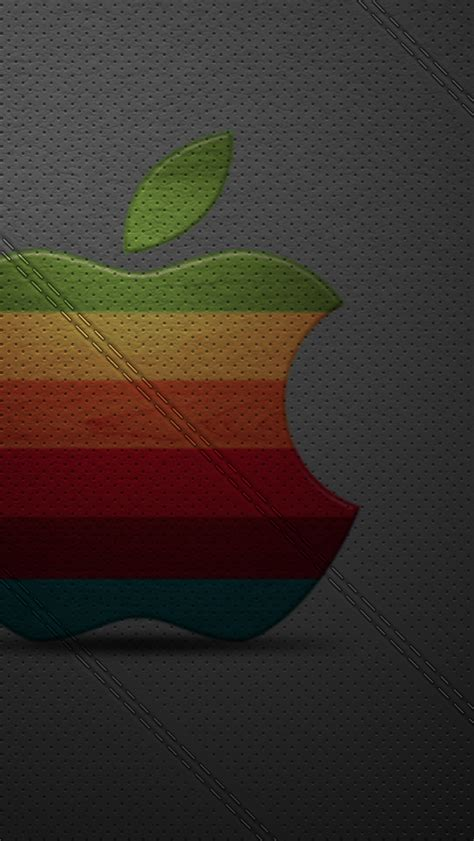 wallpaper apple leather iphone 5s wallpaper