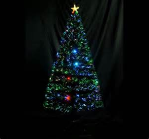 6 3ft fiber optic christmas tree with 24 led lights 230