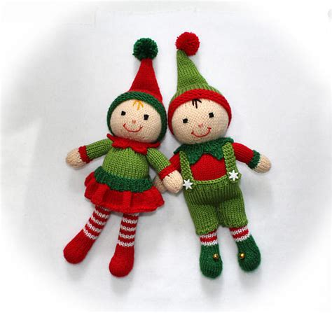 knitting pattern christmas elf christmas elf toy knitting pattern santa s helpers toy