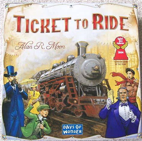 ticket to ride around games puzzles bookshop santa cruz