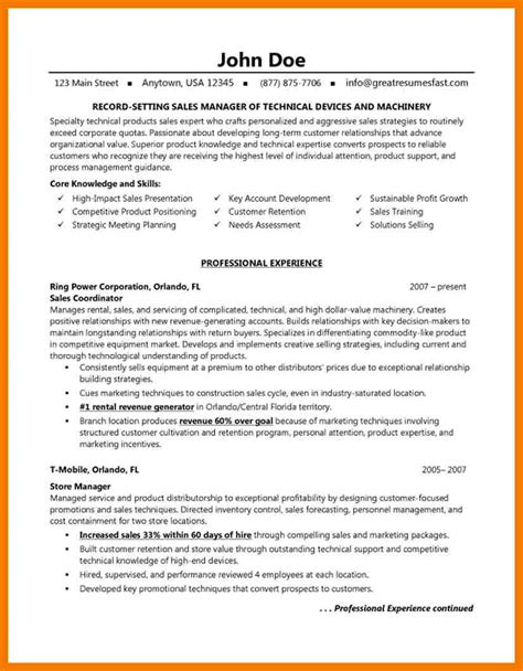 Resume Sles For New Home Sales 8 best sales resumes mailroom clerk