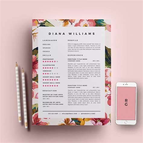 best 25 creative cv template ideas on cv