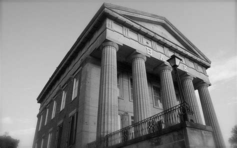 greek revival architecture in illinois panoramio photo of shawneetown bank state historical