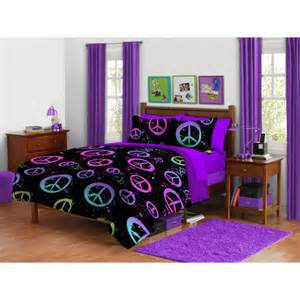 your zone comforter set peace splatter other home
