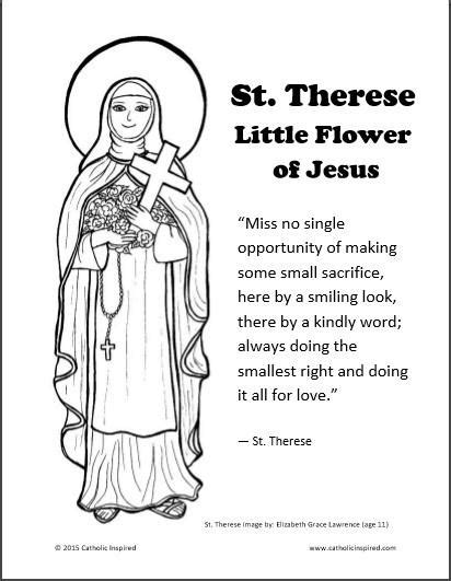 st therese the little flower of jesus lisieux free
