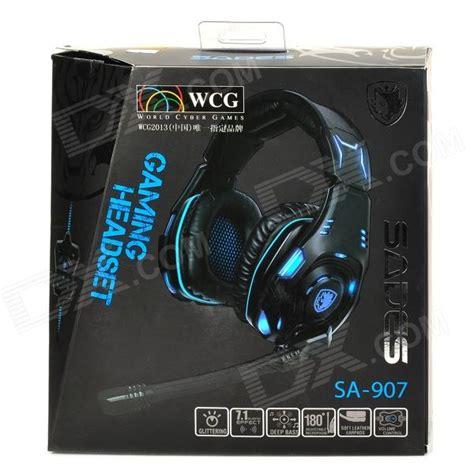 Gaming Headset Sades Sa 907 sades sa 907 usb gaming headphones headset black blue