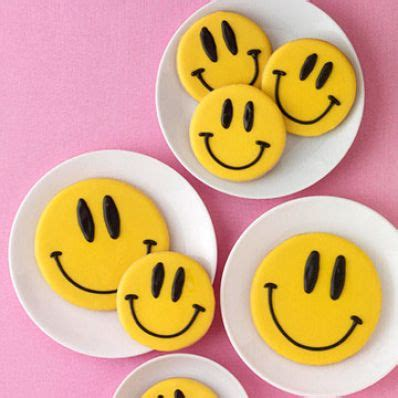 Smile Cookies smiley cookies family circle
