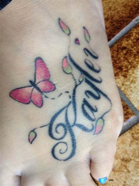 my daughters name tattoo designs of my daughters name ideas