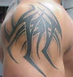 randy orton tribal tattoo tatoos gallery centre randy orton tattoos features