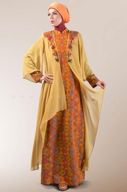 Gamis Wanita Karir 31 koleksi baju muslim modern bentuk dress untuk wanita