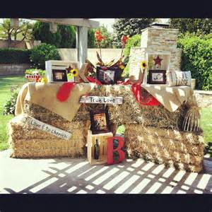 Country Wedding Shower Ideas by Country Bridal Shower Decor Bridal Shower