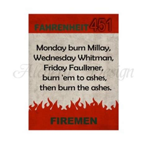 themes of fahrenheit 451 with quotes fahrenheit 451 quotes about books quotesgram